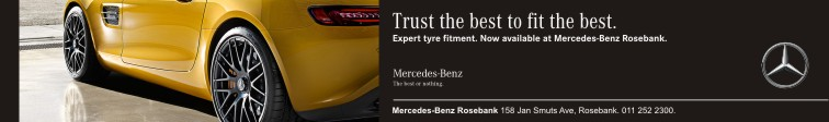 Expert tyre fitment; Now available at Mercedes Benz Rosebank